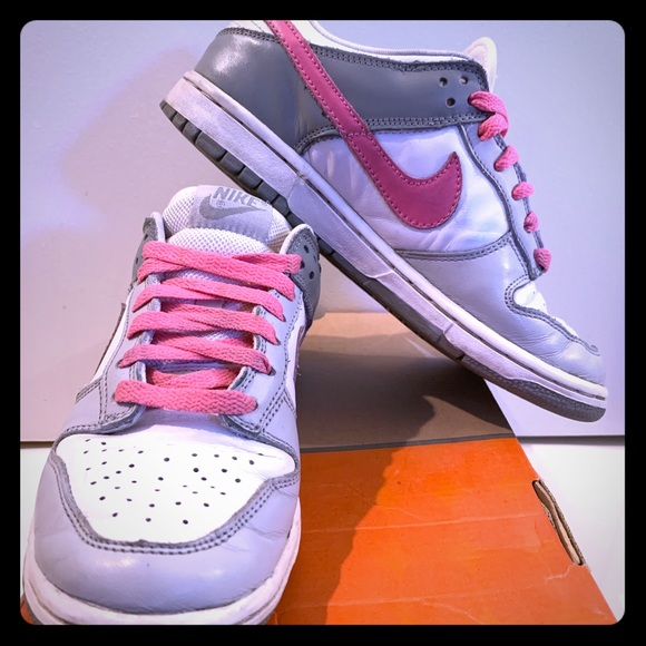 Nike Shoes - Nike Dunk Low. Leather. Women's Size 7.